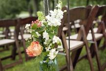 An Enchanted Forest Wedding / DIY wedding ideas - woodland wedding, enchanted forest wedding, rustic wedding.