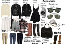 Create your own style / Wardrobe Basics and Tips on how to match them to create the perfect style!