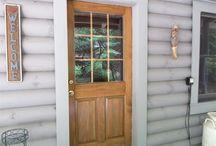Rustic Front Door Design