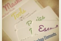 Photoshop Elements Shortcut Cards / Get your free printable Photoshop Elements shortcut cards here: http://digitalscrapbookinghq.com/shortcutcards