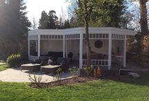 Modern Poolhouse / Garden extension eight square