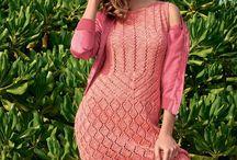 Knit dress skirt