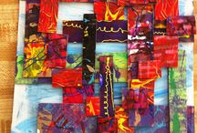 Art project collage and or multi-media / by Jane Hastings