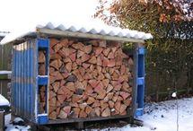 na dřevo