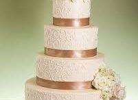 Decoración torta de bodas
