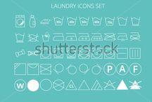 stock vector icon sets / shutterstock, vectorstock, fotolia