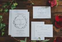 Invitation Suites / Wedding invitations