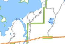 Teal Lake / 1024 acres - 31' max depth