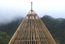 Bamboo House/Building.