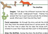 Gruffalo ideas