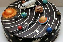 Cumpleaños tema Universo