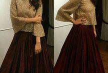 Skirt & Tops