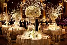 The Big Picture / When planning your tablescape take into consideration what the entire area is going to look like when all is said and done.  This is the WOW your guests will get as they enter.