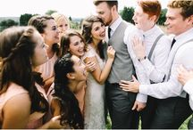 WEDDING: Groups / Group poses inspiration for weddings.