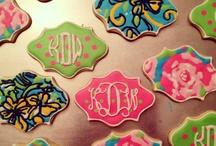 Cookies  Monograms