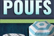 Floor poufs