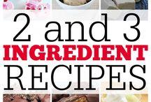 3 ingredient recipes that WORK