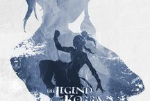 Legend of Korra and Aang