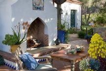 Spanish backyard style