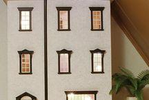 Het Herenhuis / Een mooi poppenhuis dat in mijn bezit is geweest totdat er weer een nieuw projectje kwam ;-) dollhouse