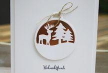 Basteln Weihnachtskarten
