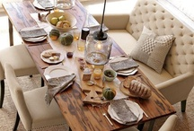 Dinning Room Inspirations / Ideas for a great dinning room for your home.