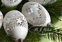 Ażurowe bombki - merry christmas