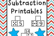 Maths part-part-whole (+ & - & =)