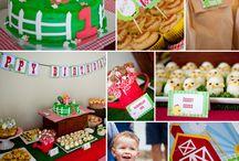 Old Mac Donalds Farm Birthday Party ideas