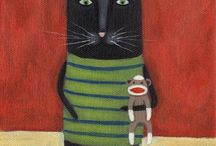 artsy cats / by Charlotte Northcutt
