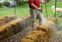 how to make straw beds