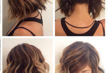 frisyrer/hår