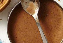 sauces gravys  rubs marinades / by Kathy Muller Maisenbacher