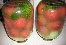 домашние заготовки-помидоры