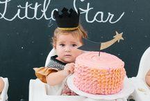 Airlie's 1st Birthday / Stars & Sparkles 1st Birthday Party