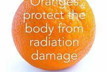 Oranges health benefits