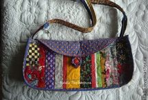 My bags, wallets,  make up bags / My bags,wallets, cosmetic`s bags created by me with own design