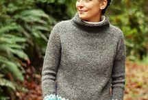 strikket genser/jakker