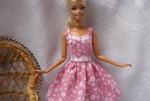 šaty na barbie / šaty na barbie