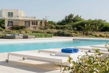 Villa Alkestis #Paros #Greece #Island / Villa Alkestis, is a premier pool-front villa, part of a group of seven luxury villas in the island of Paros, located in Ambelas sea side fisherman village, nestled above a golden sand and the pristine blue water of the Aegean Sea. http://www.mygreek-villa.com/fr/rent-villa-search-2/villa-alkestis