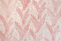 Charis White - Textiles inspiration / Old and new textile designs