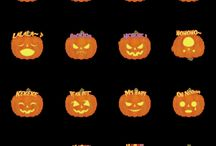 line stamp / line stamp of halloween! ハロウィンのラインスタンプ!