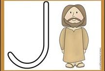 Bible: Alphabet for Preschool / by Debbie Jackson