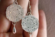 Mandala and paisley inspired jewelry (oriental) / mandala jewels, paisley shaped jewelry and oriental inspired uniques pieces of jewelry
