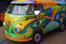 Painted car art / ideas for brightening up my work vehicle..