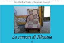 """La Canzone di Filomena / Nei giorni 11/12 - 18/19- 25/26 Maggio,  presso il Santuario Santa Maria Francesca Vico Tre Re a Toledo 13 (Quartieri Spagnoli) è andato in scena il reading drammatizzato """"LA CANZONE DI FILOMENA""""  di MAURIZIO DE GIOVANNI interpretato da TINA FEMIANO accompagnata da AURORA SANARICO al violino."""