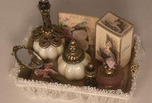 Perfume bottles miniature