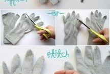rukavice dekor