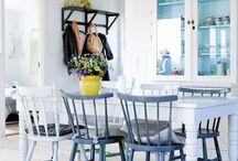 Ideas and Dreams for my summerhouse. / Om å få ideer til hytta.