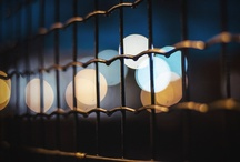 Photography: urban night lights.